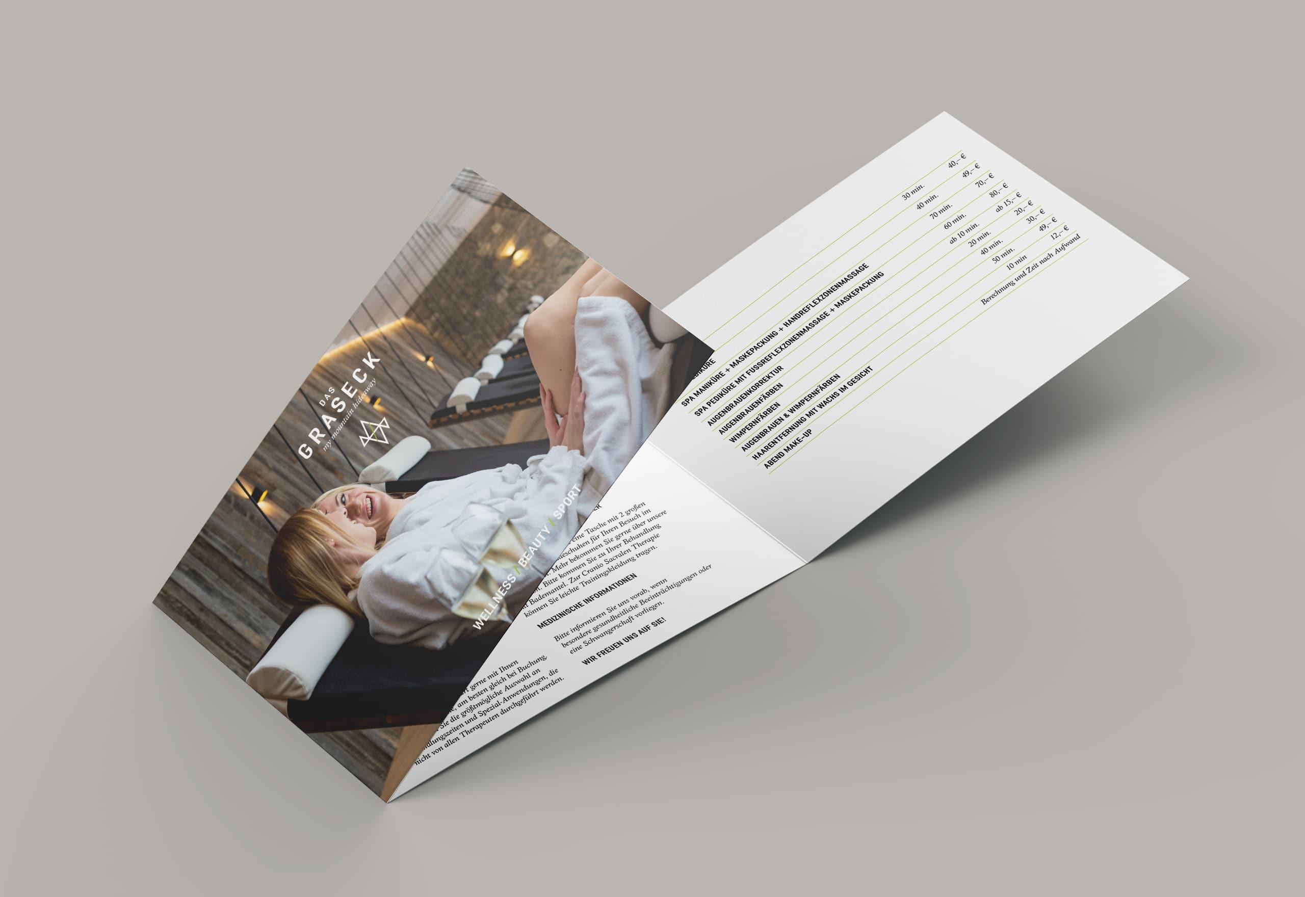 Corporate Design und Fotografie Hotel Das Graseck