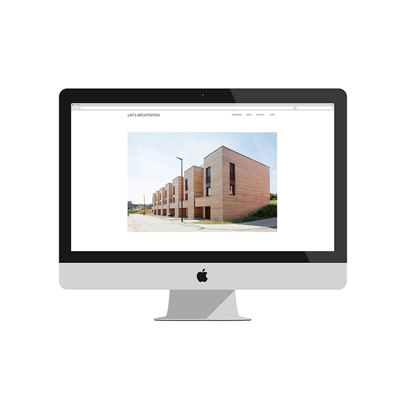 Webdesign LMT3 Architekten