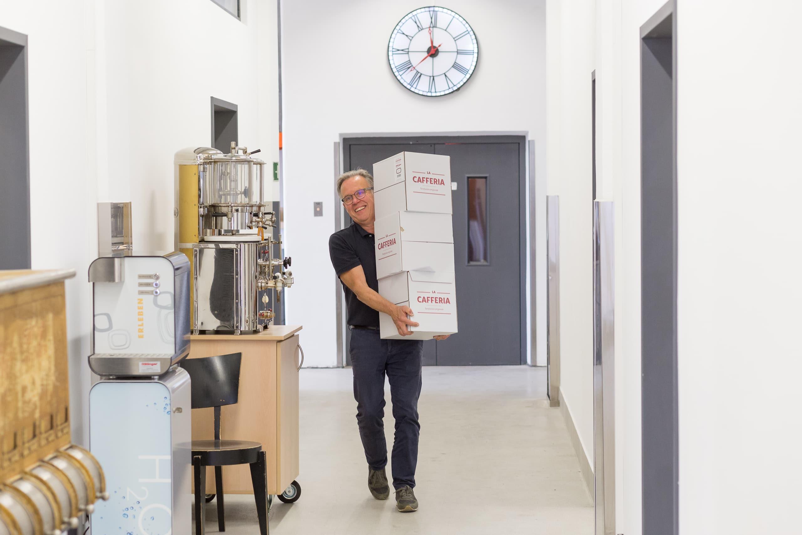 Fotografie Rittinger Kaffeetechnik GmbH