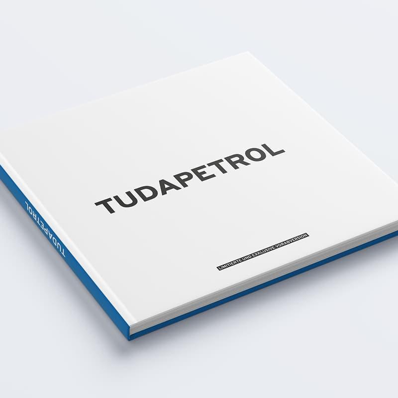 Buchgestaltung Tudapetrol